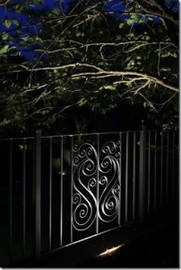 Fence decorative frontlit1